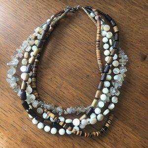 Silpada 5 string necklace